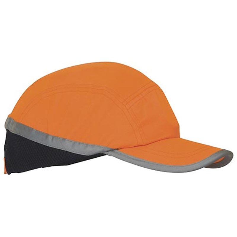 Hi-Visibility Bump Cap (Orange)