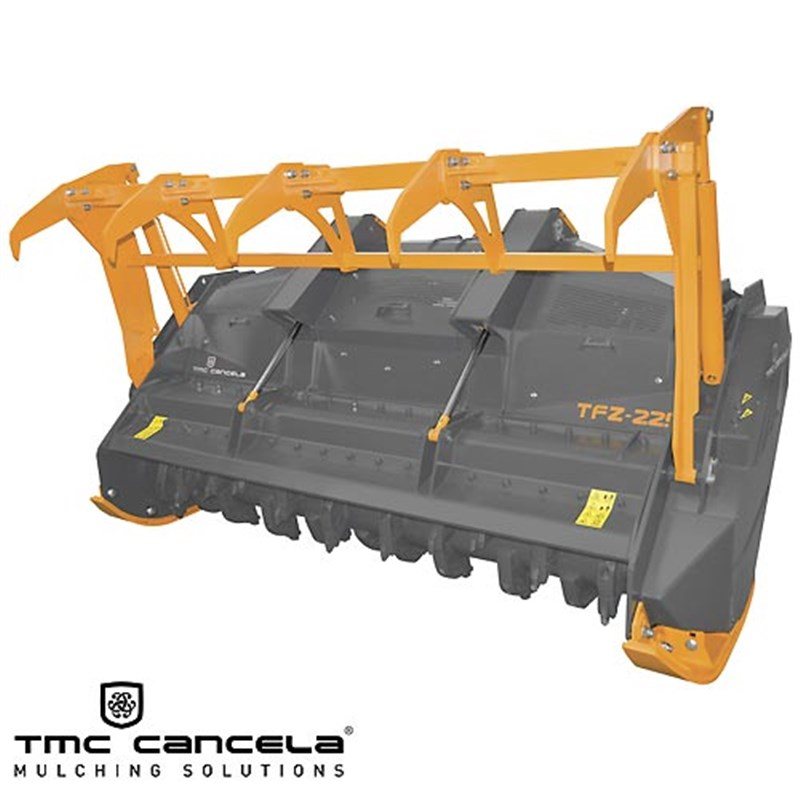TMC Cancela TFZ-225 Forestry Mulcher c/w Hydraulic Push Frame & Turbo Clutch Kit