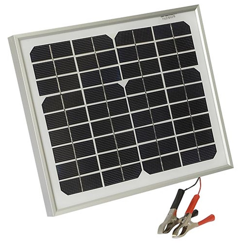 5 5 Watt Solar Panel Trickle Charger