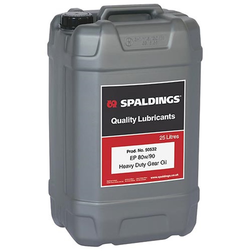 EP 80W-90 Heavy Duty Gear Oil, 25 Litres