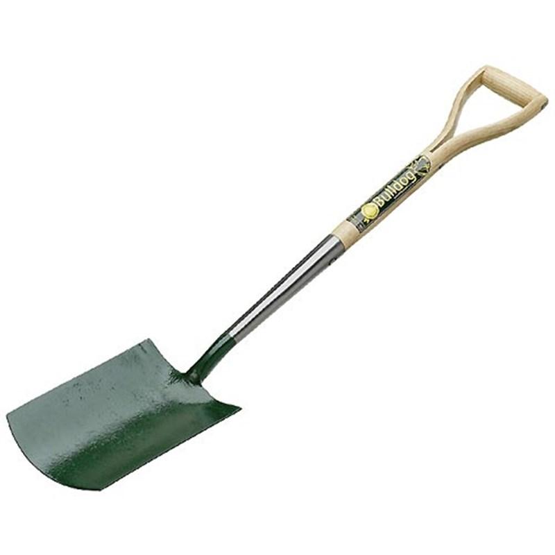Bulldog premier digging spade 5600 01 2820 for Garden tool maintenance