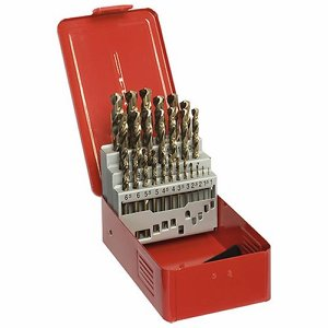 25 piece Metric Cobalt Drill Set