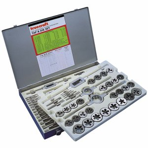 Truecraft 97 piece Tap & Die Set (Metric & Imperi...