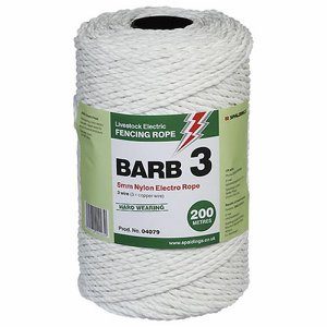 Barb 3 Electro Rope, 5mm x 200m