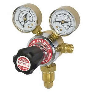 Single Stage Acetylene Regulator c/w gauges