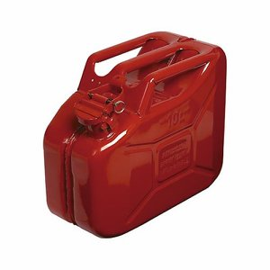 Steel Jerry Can, 10 ltr (2.2 gals)