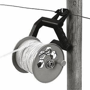 Large Plastic Re-loadable Fence Reel