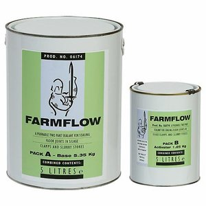 Farmflow Joint Sealant, 5 litre (pack A and B com...
