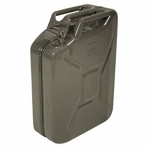 Steel Jerry Can, 20 ltr (4.4 gals)