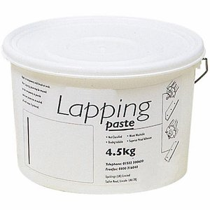 50 Grit Coarse Lapping Paste, 4.5kg