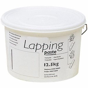 80 Grit Medium Lapping Paste, 12.5kg