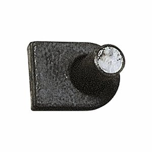 Weld-on Gate Hook with Flat Base,  7/8