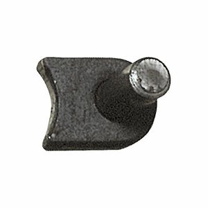 Weld-on Gate Hook with Radius Base,  7/8