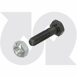 M10 x 40mm Bolt & Nut