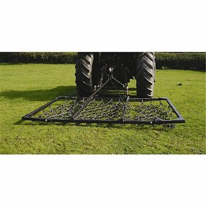 3.65m (12') Frame Mounted Chain Harrow, with manu...