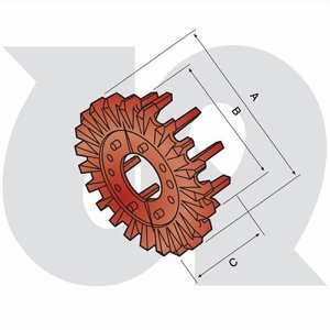 32mm Pitch Bolt-on Sprocket with Fingers