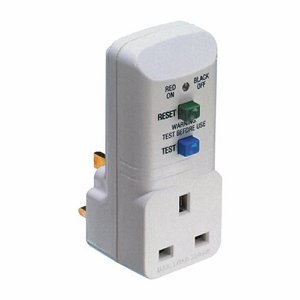 RCD Protection Socket, 13 amp