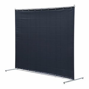 Welding Curtain with Frame, 6 x 8ft