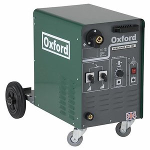 Oxford Spaldings 225A 1ph MIG Welder c/w earth le...