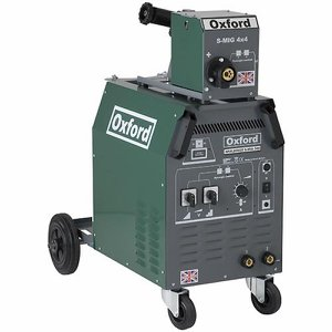 Oxford Spaldings 380A 3ph MIG welder c/w feeder, ...