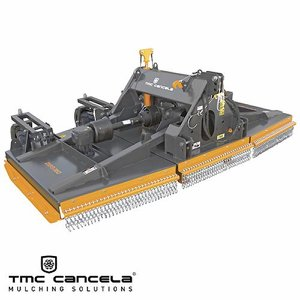 TMC Cancela DXP3-360 Rear Mtd. Folding Rotary Bru...