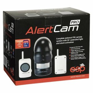 PIR Security Alert Camera (17812) c/w Remote Alar...
