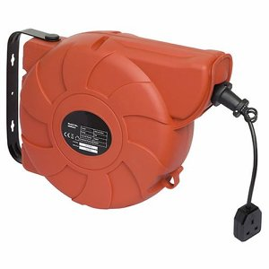 25m Retractable Cable Reel System (1 x 230 Volt S...