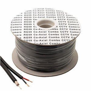 Additional 100m Camera Cable plus 4 Connectors fo...