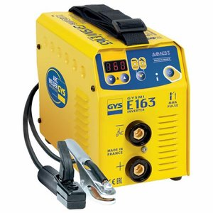 Gysmi E163 160 amp Arc Welding Inverter c/w acces...