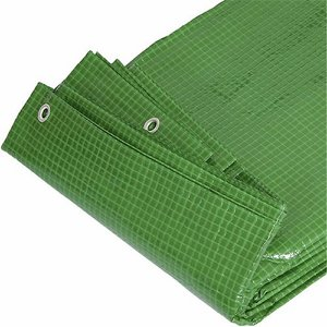 4 x 8m (13.1 x 26.2ft) Tarpaulin Polythene Sheet ...