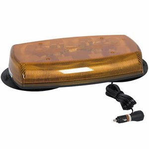 12/24v Magnetic/Vacuum LED Amber Light Bar