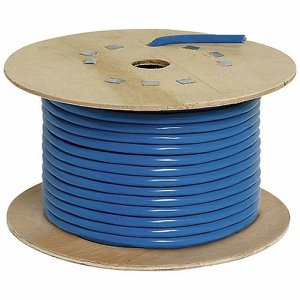 Blue 16 amp, 3 Core Cable, 50m (164ft) Drum