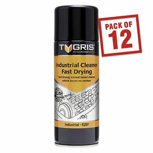 TYGRIS Industrial Cleaner - Fast Drying, 400ml ae...