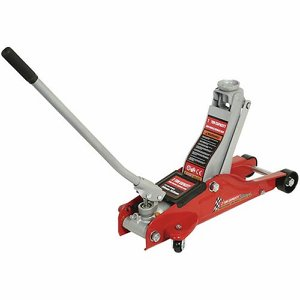 2 Tonne Workshop Trolley Jack c/w carry case