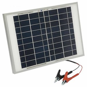 10 Watt Solar Panel Trickle Charger