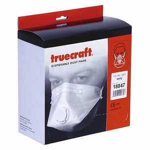 FFP2 Disposable Mask with valve (Pk 20)