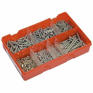 BA Steel Bolts and Nuts Selection Box