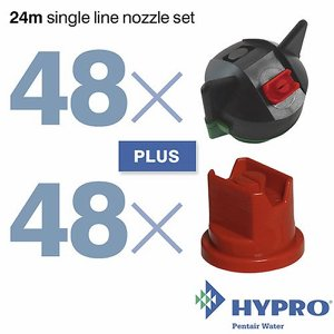 24 Metre Single Line Nozzle Set (consists of: 48 ...
