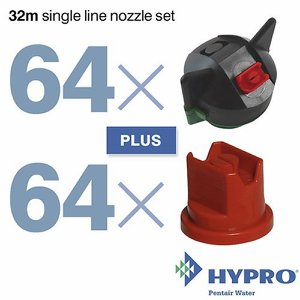 32 Metre Single Line Nozzle Set (consists of: 64 ...
