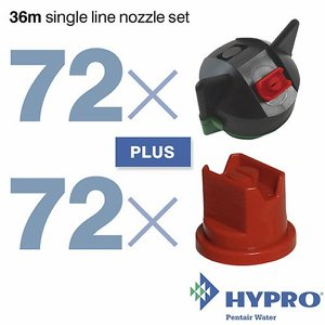 36 Metre Single Line Nozzle Set (consists of: 72 ...