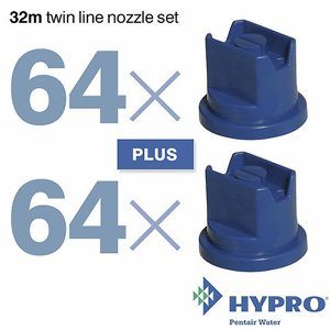 32 Metre Twin Line Nozzle Set (consists of: 64 x ...