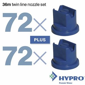 36 Metre Twin Line Nozzle Set (consists of: 72 x ...