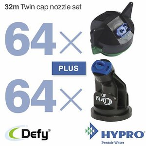 32 Metre Twin Cap Nozzle Set (consists of: 64 x 1...