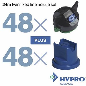 24 Metre Twin Fixed Line Nozzle Set (consists of:...