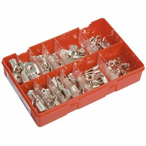 Electric Crimp Terminals Selection Box (Qty 80)