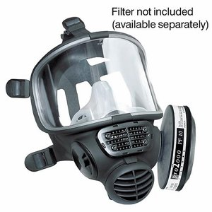 Promask2000 Full Face Respirator only. (Filters n...