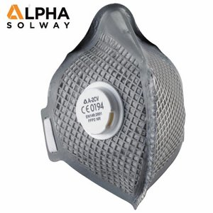 FFP2 Alpha A-2CV Fold Flat Disposable Respirator ...