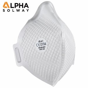 FFP1 Alpha A-1 Fold Flat Disposable Respirator (p...