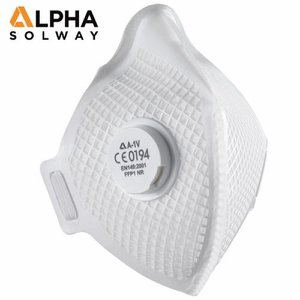 FFP1 Alpha A-1V Fold Flat Disposable Respirator w...