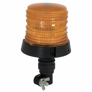 12/24v LED Flexi Bolt-on Amber Plant Beacon (30 S...